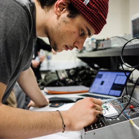 Study engineering at Salford